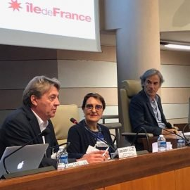 Intervention au colloque sur les aidants à la région Île-de-France